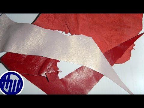 Как гладить натуральную кожу: видеоурок - Ярмарка Мастеров - ручная работа, handmade