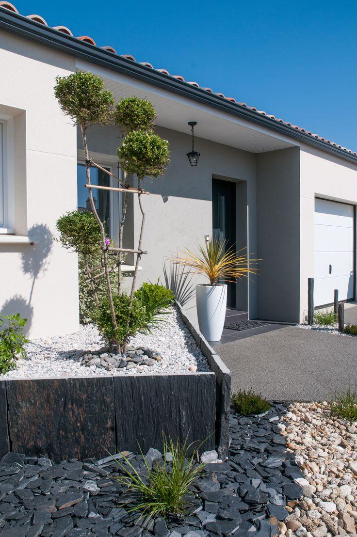 Maison - Constructeur de Maison - Maisons d'en France Atlantique - Vendée - Charente-Maritime - Architecture - Construction - Aménagement paysager - Réalisation Maisons d'en France Atlantique