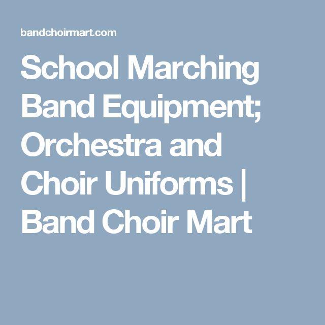 School Marching Band Equipment; Orchestra and Choir Uniforms | Band Choir Mart