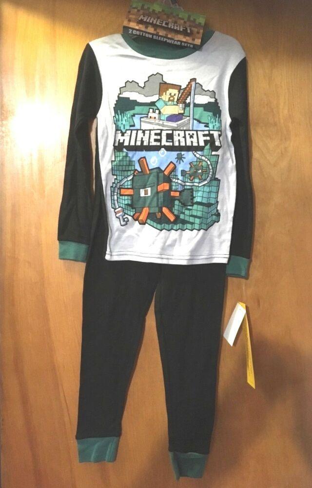 Minecraft Game Over 2-Piece Pajamas