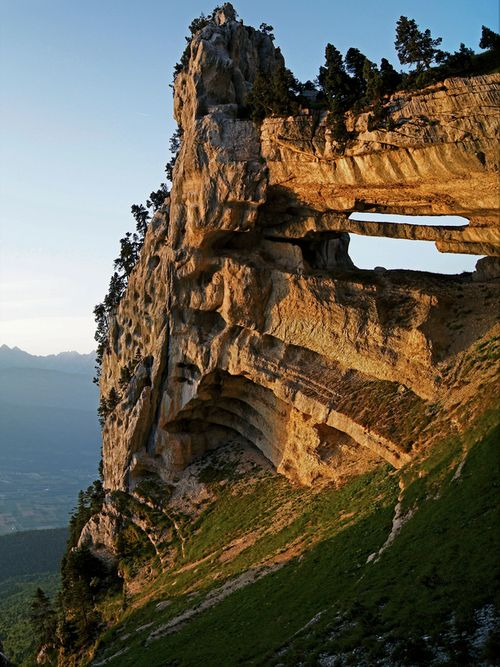 The Chartreuse Arch, France: Amazing, France Photo, Adventure, Chartreuse Archfranc, Places I D, Places To See, Chartreuse Mountain, Landscape, Chartreuse Arches France