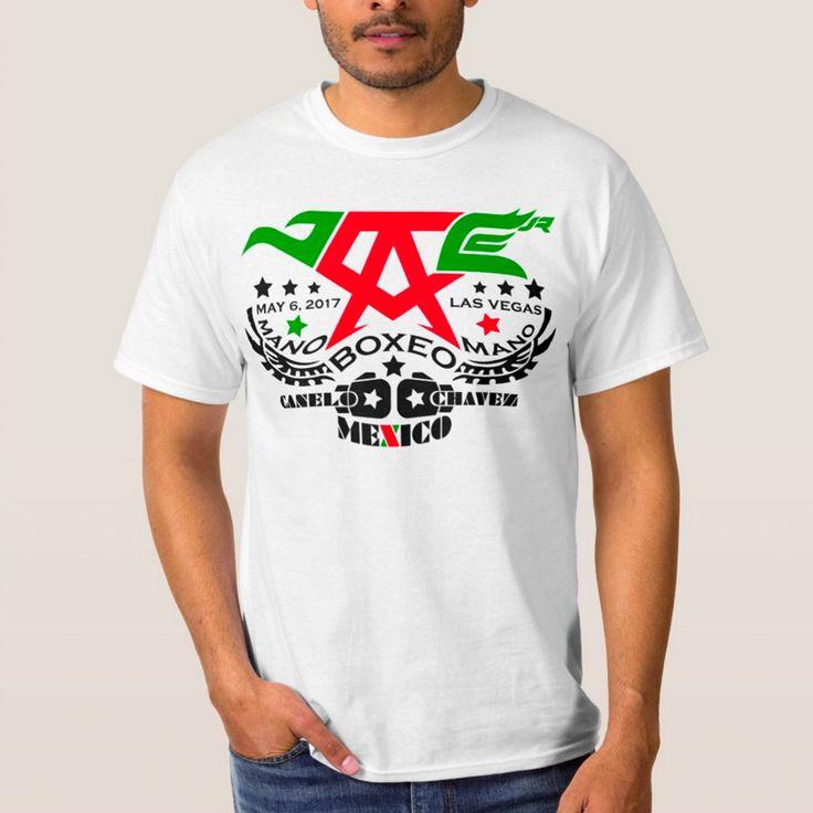 CINCO DE MAYO 2017 BOXING • Event Shirt #CANELOCHAVEZJR #TEAMCANELO #TEAMCHAVEZJR #BOXING