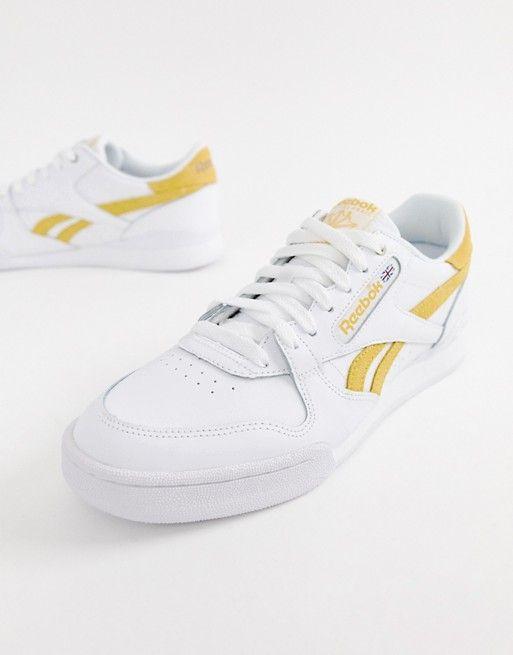 d44ac32d Reebok Phase 1 Pro Sneakers In White CN3855   shoe   Sneakers ...
