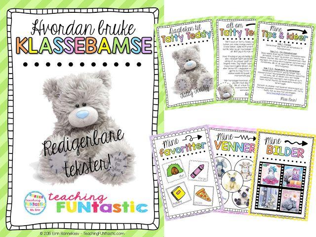 Teaching FUNtastic: Klassebamse - en venn for livet!