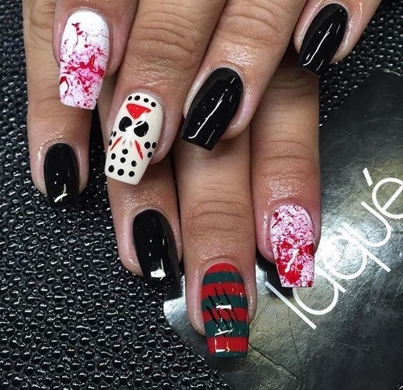 Nail Designs Halloween Nail Design March 2020 in 2020 ...