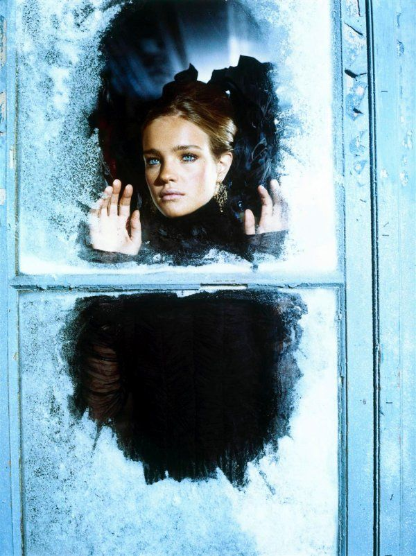 Morning Beauty | Natalia Vodianova |  Ellen von Unwerth #phography