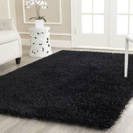 Die besten 25+ Black shag rug Ideen auf Pinterest Flokati - moderne teppiche fur wohnzimmer