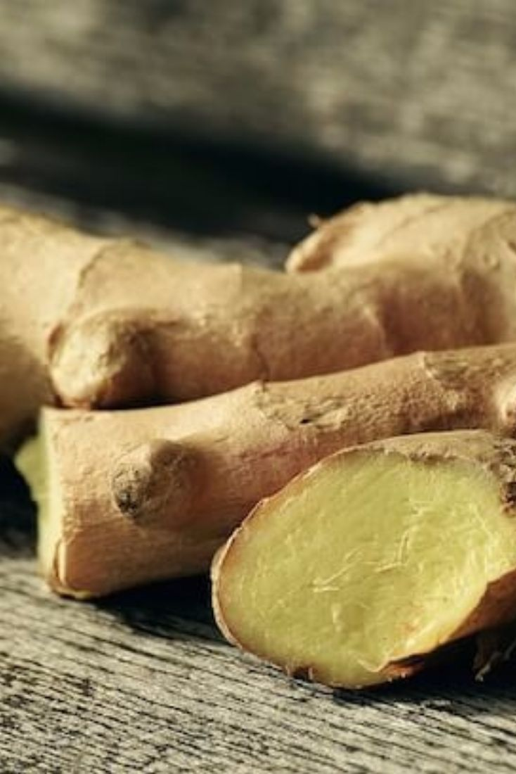 Your nausea relief: ginger.