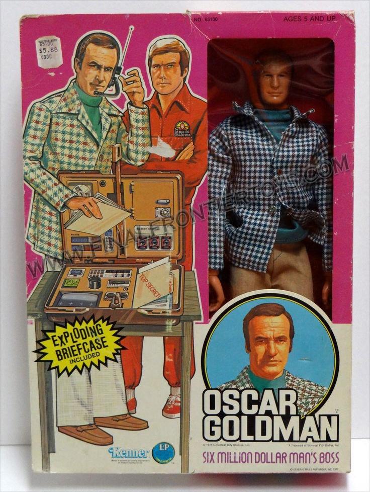Image result for oscar six million dollar man
