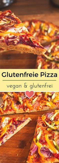 Super leckerer glutenfreier Pizzaboden. Dazu noch vegan. #vegan #glutenfrei #glutenfree #veganrezept #rezept #rezepte #veganfood