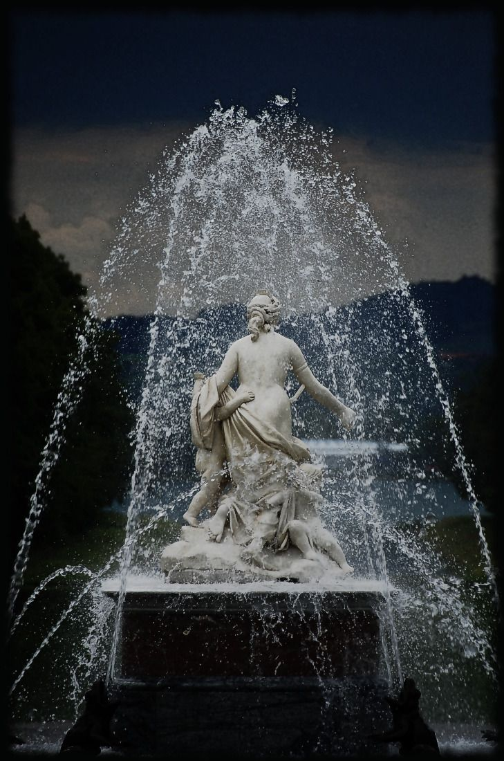 Herrenchiemsee Fountains - The Versailles of Bavaria, just one of the Magnificent Palaces built by Ludwig II.