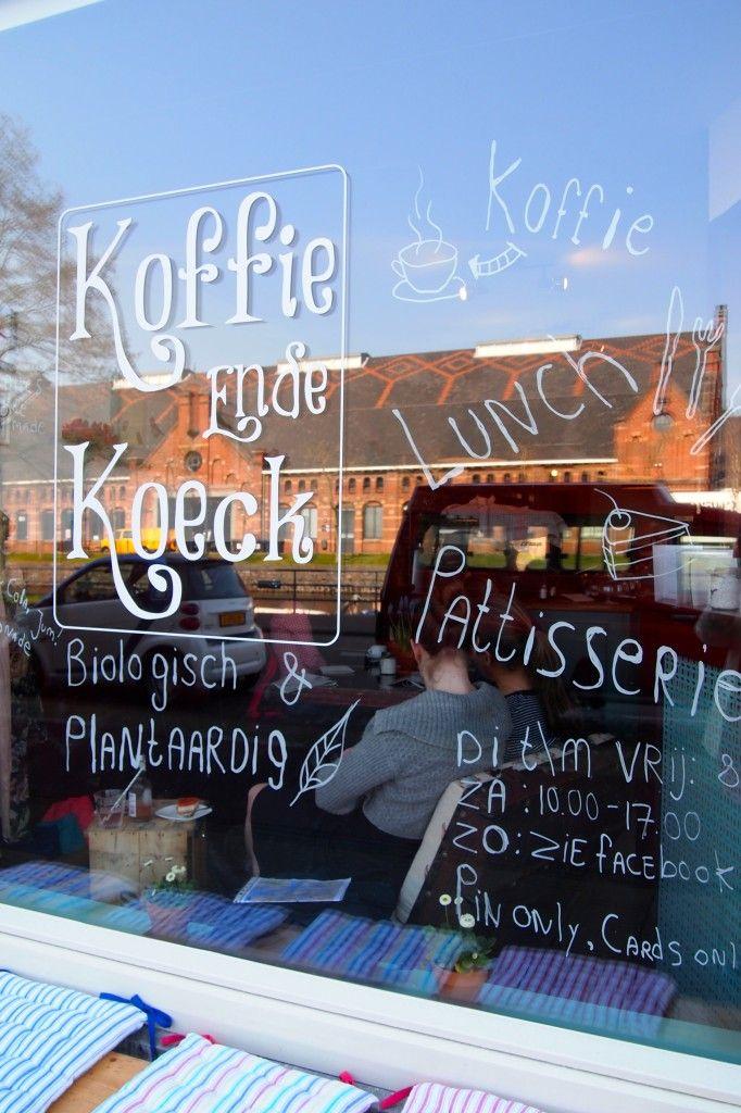 Koffie ende Koeck #koffie #lunch #taart #Vegan #Westerpark