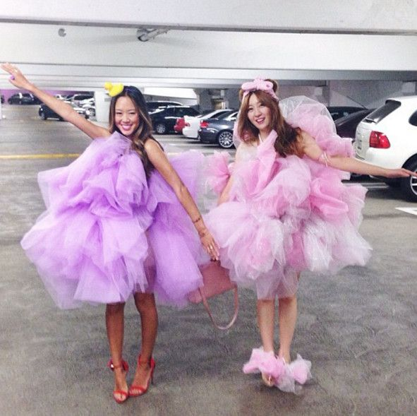 Aimee Song as a Loofah - The Best Celebrity Halloween Costumes You'll Want to Copy - Photos