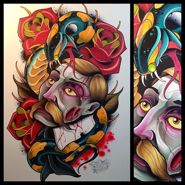 Dave Tevenal #Ink #tattoo