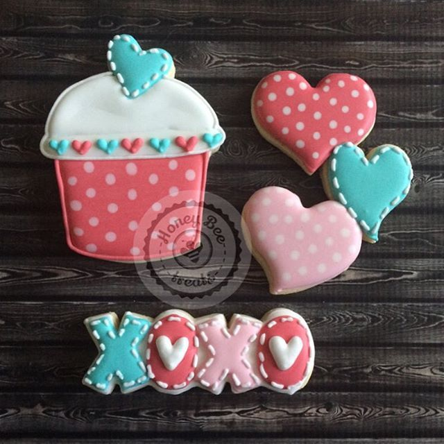 231 best Cookies-Valentines Day images on Pinterest | Decorated ...