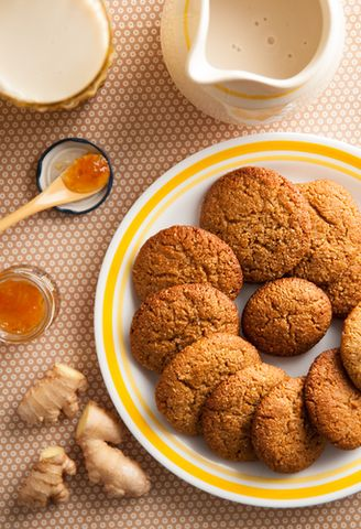 Ginger Biscuits made with treacle