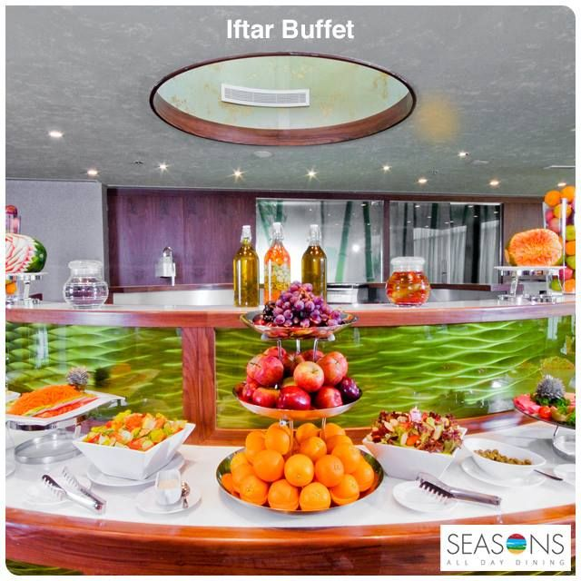 Heard of an exhilarating experience that comprises food? Come over to experience this feast at our #Iftar #buffet with your loved ones. To make a reservation give us a call on +9714 5019000, yours #RamadaChelsea