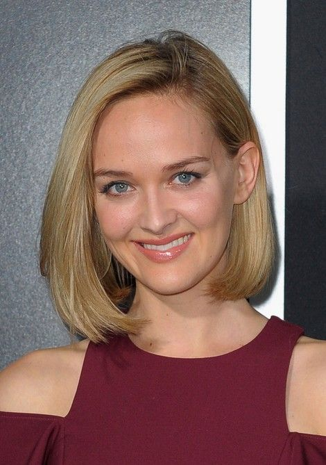 Jess Weixler Short Haircut for 2014 - Straight Bob Hairstyle  (my hair wants to be straight, but not sure if I can get it to stay like this)