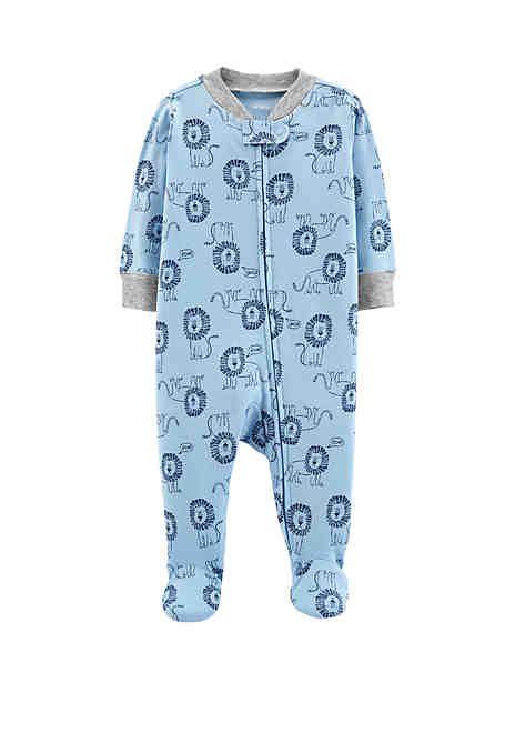 12b554c64 Carter's® Baby Boys Lion Zip-Up Cotton Sleep & Play | kidlings ...