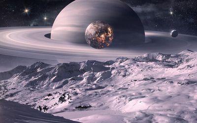Saturn wallpaper
