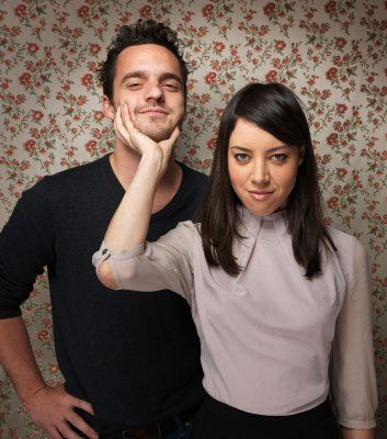 Safety Not Guaranteed. Jake Johnson and Aubrey Plaza.