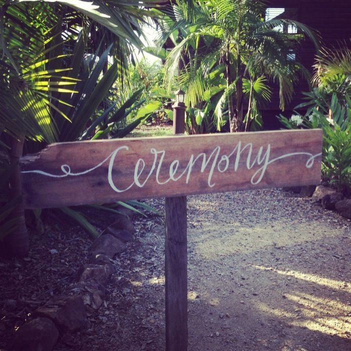 Wedding signage and prop hire by Lilywillow designs