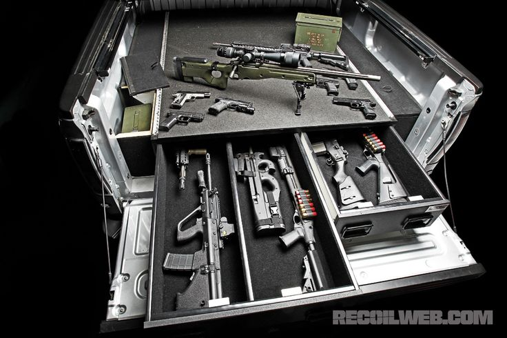 Truck bed storage...SO need this.