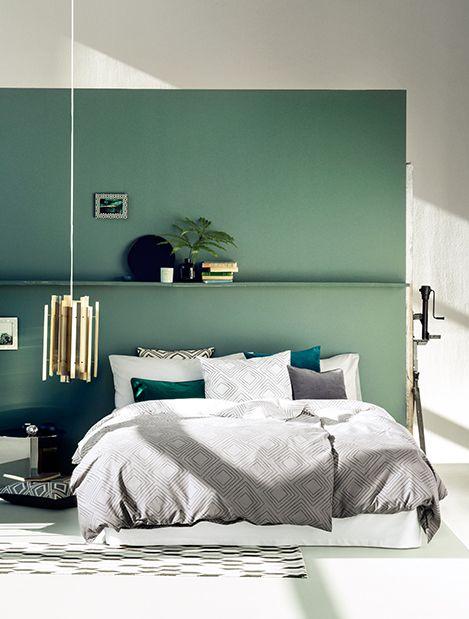 17 meilleures id es propos de chambres coucher verte p le sur pinterest chambres peints en. Black Bedroom Furniture Sets. Home Design Ideas