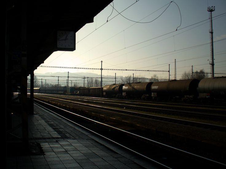 železniční stanice Valašské Meziříčí