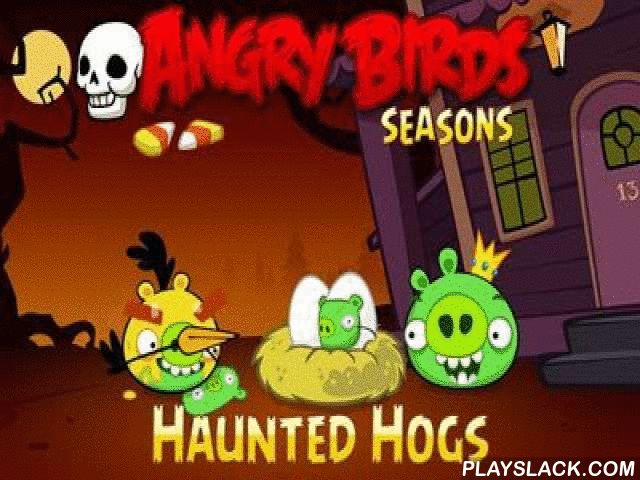 Angry Birds Seasons Haunted Hogs!  Android Game - playslack.com , Angry Birds Seasons: Haunted Hogs! is another modify of passageway game Angry Birds Seasons on Android. This time the modify is use to Halloween. The game has levels accessible with former gameplay. Graphics and sounds have also been changed; they were made in Halloween style. The part of the things were  idempotent. As before, you have to noise the swines  buildings with angry birds. All the devices of Angry Birds successions…