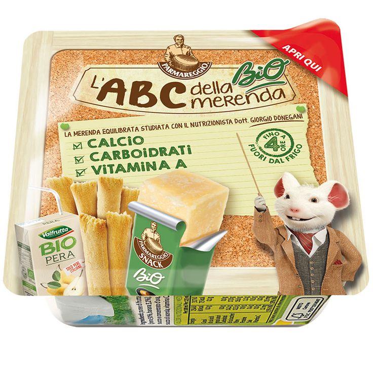 I preziosi consigli di #Parmareggio per uno spuntino sano e nutriente: scoprite l'ABC della merenda!