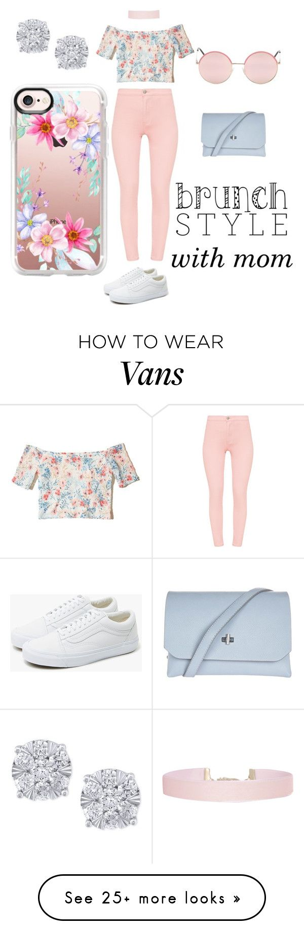 """""""Sunday Brunch Day!"""" by jaypie-1 on Polyvore featuring Hollister Co., Humble Chic, Vans, Topshop, Effy Jewelry and Casetify"""