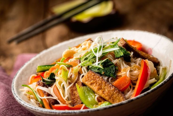 Tofu stir fry by the talented Pamela Chen Moore
