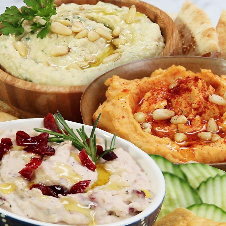 Hummus 3 Ways by Tasty