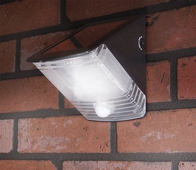 LED Flood Light Solar Powered Motion Outdoor Security Sensor Waterproof