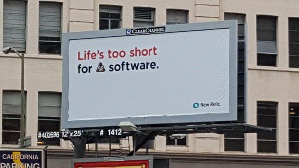 Life is too short for shitty software