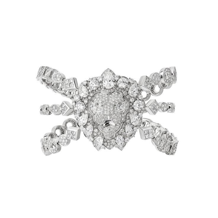 "CHANEL. ""Eternal"" bracelet #Chanel #ChanelJoaillerie #L'EspritDuLion #2018..."