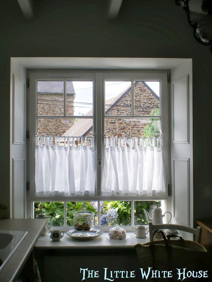 Habillement d 39 une fen tre pour un style anglais chez http for Rideaux cottage anglais