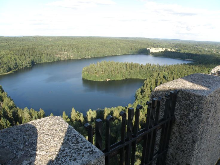 One of Finland's national views in Aulanko, Hämeenlinna.  #Aulanko #nature #Finland #lake #forest