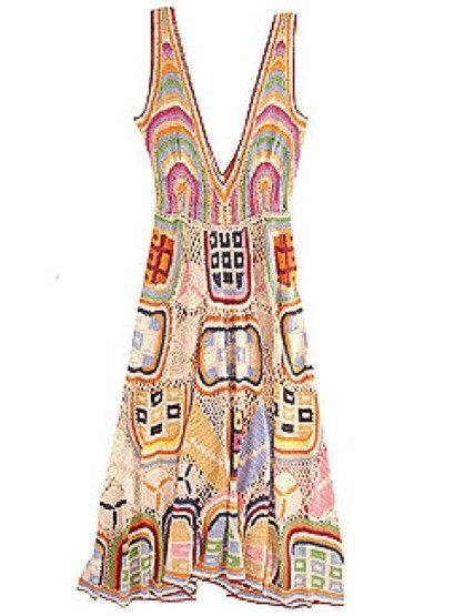 Missoni crochet dress