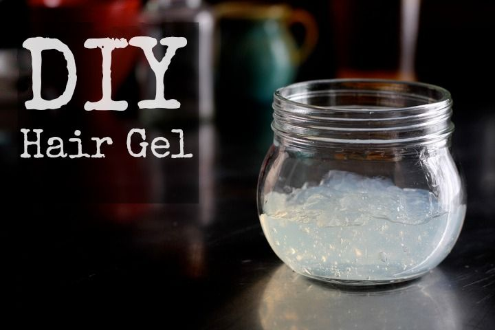 DIY Hair Gel Recipe 1. Dissolve gelatin into warm water, using 1/4 teaspoon for less hold and 1/2 teaspoon for more hold.  2.. Add essential oils if desired. Store in a covered container in the fridge.