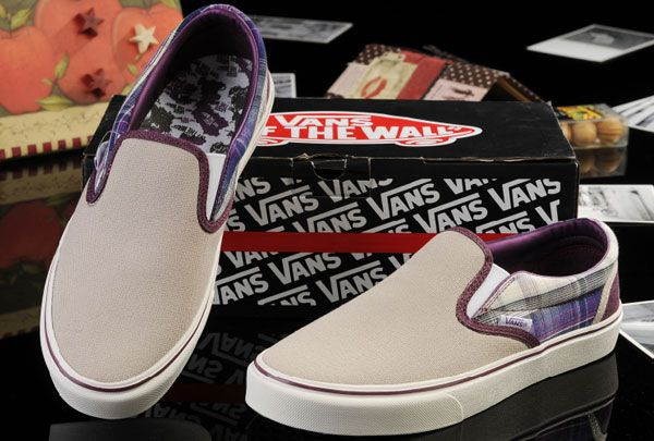 Vans Beige Claret New York Map Classic Slip-On Checkerboard Canvas Skate Shoes Outlet [13060105] - $39.99 : Vans Shop, Vans Shop in California