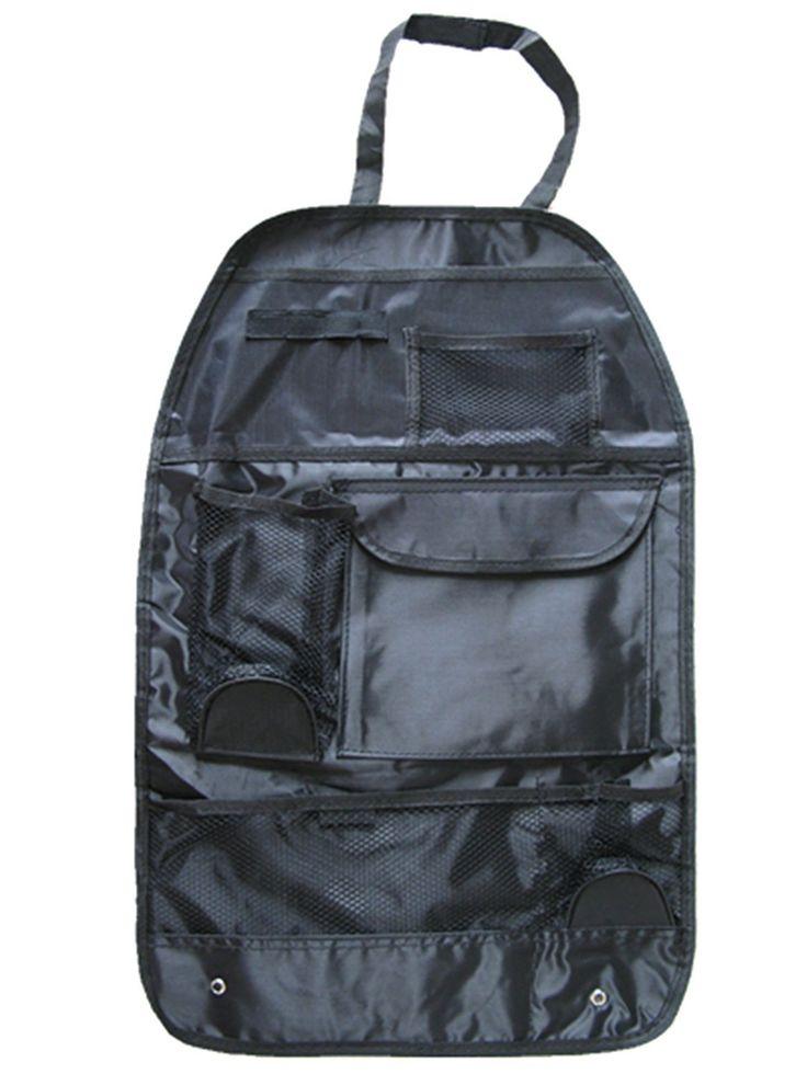 Car Seat Organizer Holder Multi Pocket Headrest Storage Bag Hanger Carrier