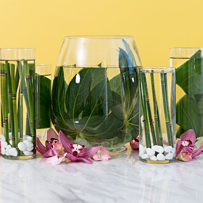 You Have To Learn Our Easy Trick For Submerging Flowers In Water