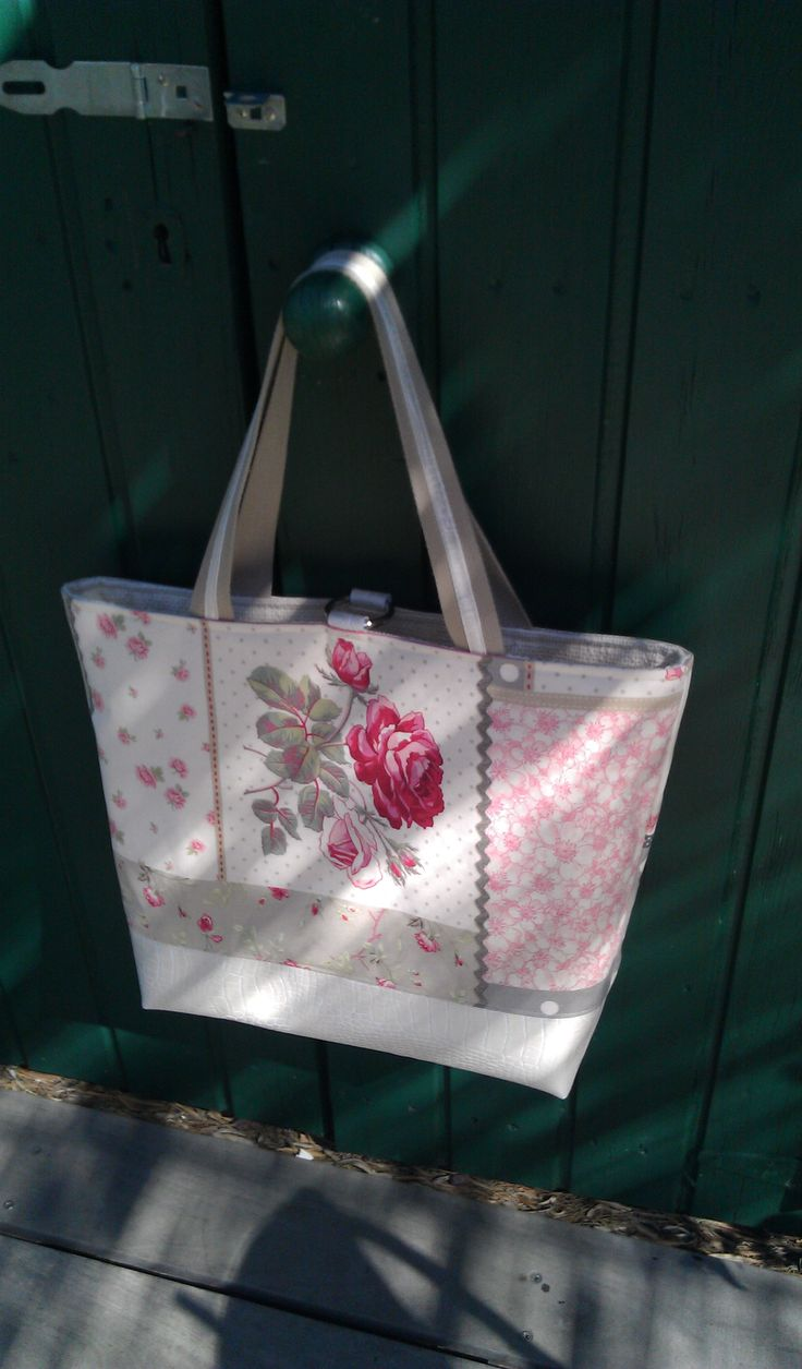 2nd reversible # handmade tote# bag.