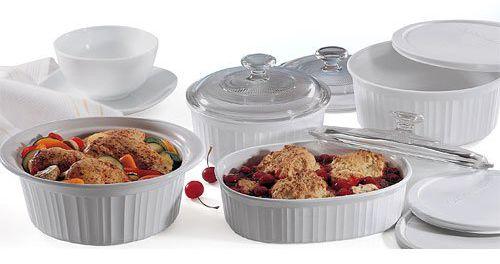 CorningWare 6018696 French 10-Piece Bakeware Set