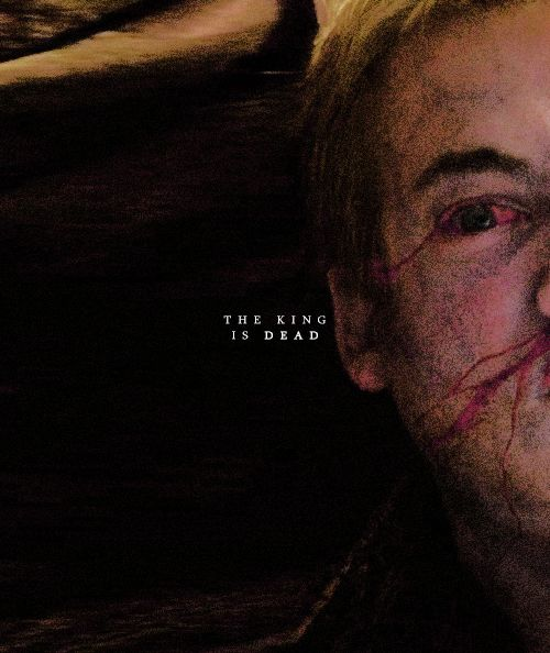 The king is dead   - game of thrones
