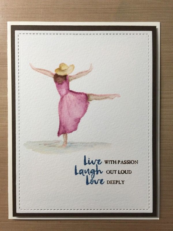 Splitcoaststampers FOOGallery - Beautiful You no line watercolor 1