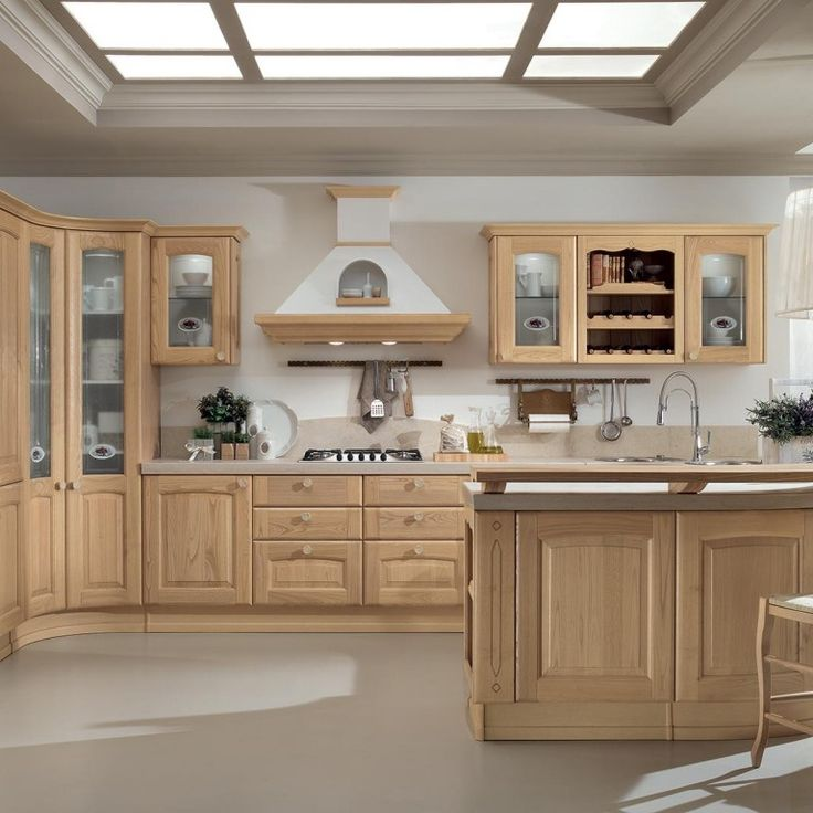 12 best CUCINE CLASSICHE images on Pinterest | Kitchen designs ...