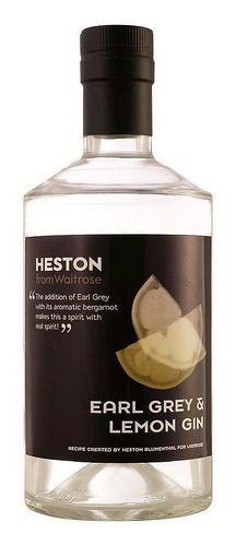 Heston Blumenthal Earl Grey Gin... first thing i buy when i'm back in the UK
